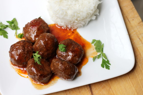 Sweetness BBQ Meatballs