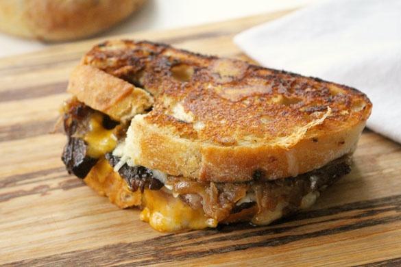 Short-Rib Grilled Cheese Sandwich