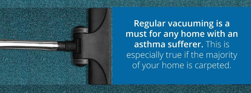 asthma vacuum