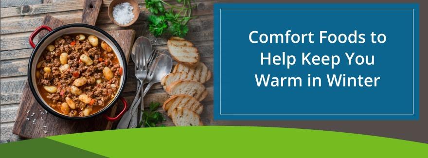 warm comfort foods