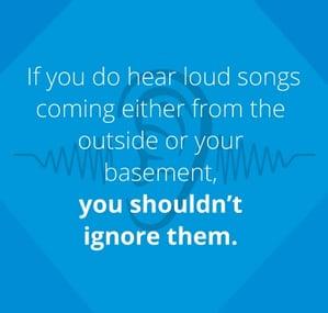 don't ignore AC noises