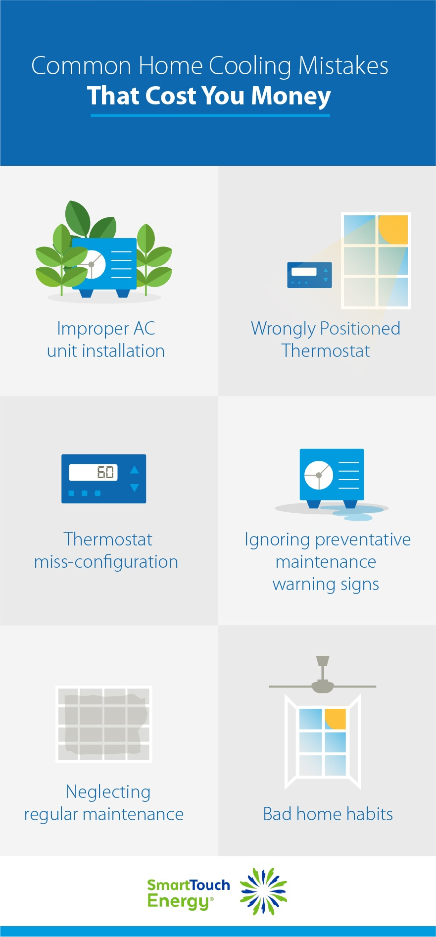 Common Home Cooling Mistakes That Cost You Money