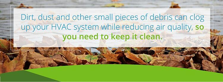Keep your HVAC system clean