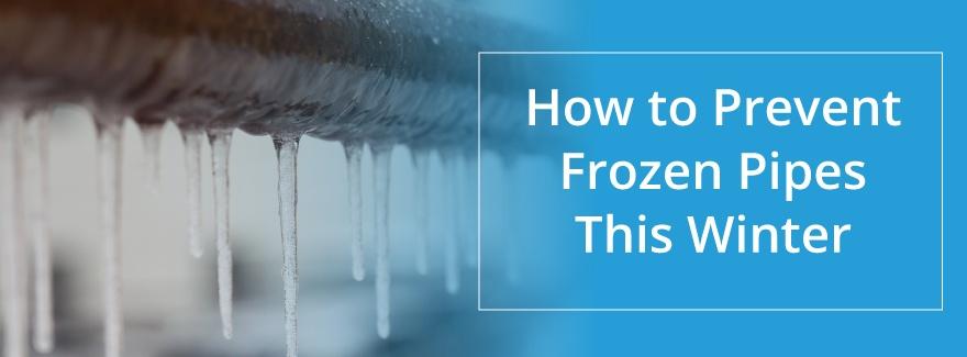 prevent frozen pipes