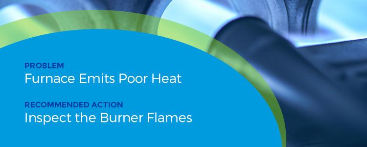 emits poor heat