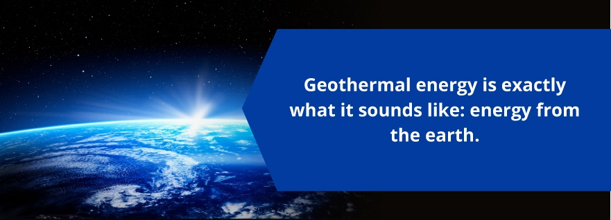 what is geothermal