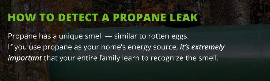 detect propane leak