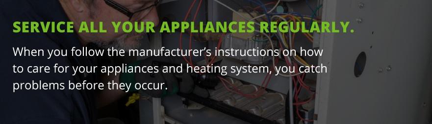 service propane appliances