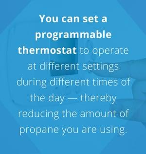 programmable themostat