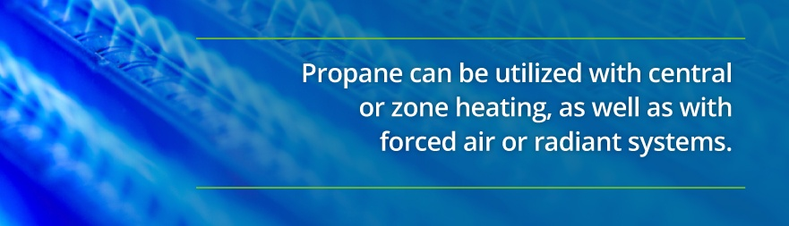 propane heat types