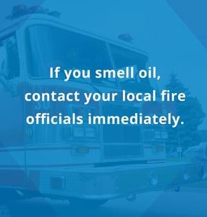 smell oil leak