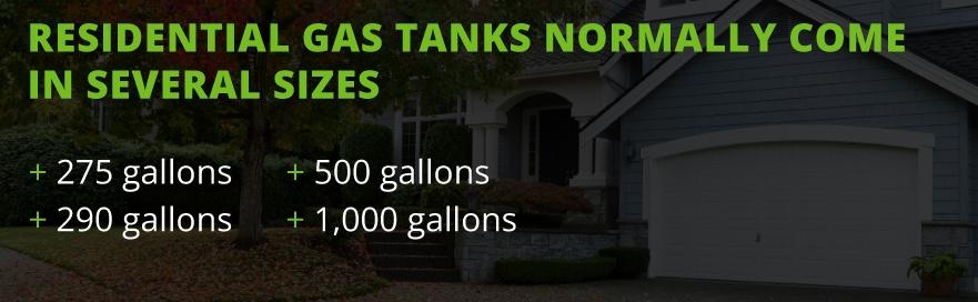 tank size