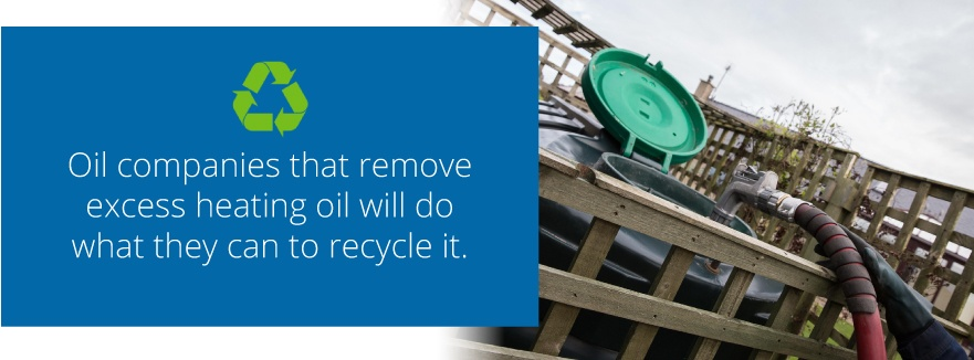 recycling oil