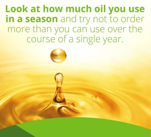 seasonal oil use