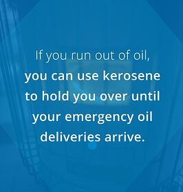 use kerosene