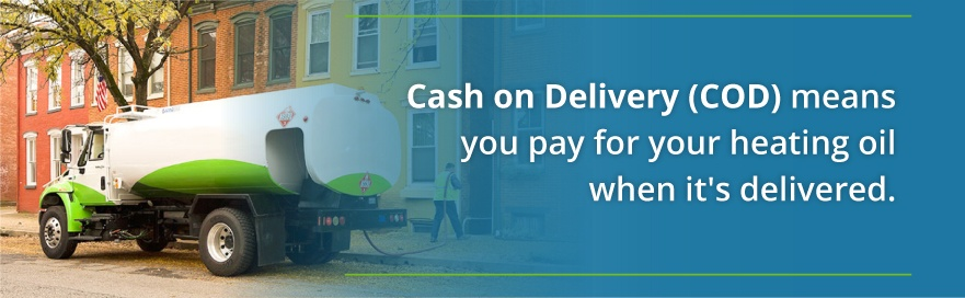 cash on delivery oil
