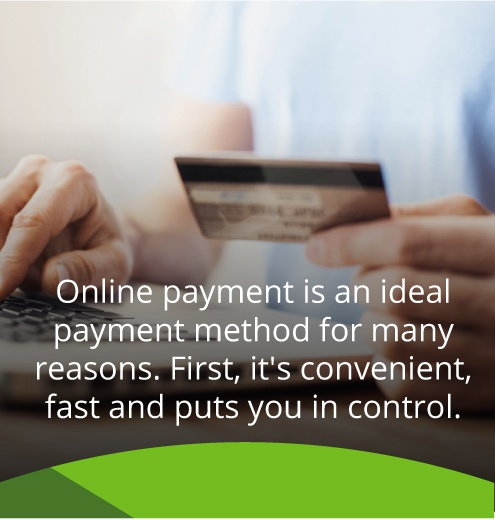 online oil payment