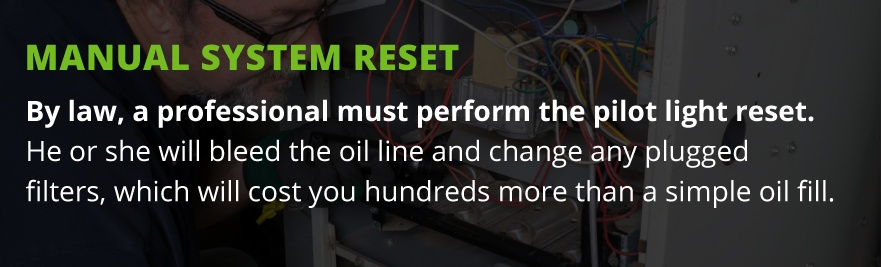 pilot light reset