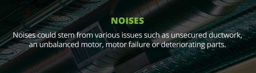 furnace noises