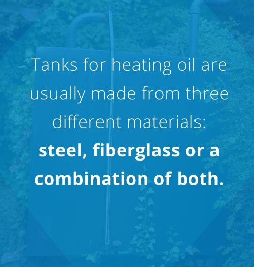 heating oil tanks