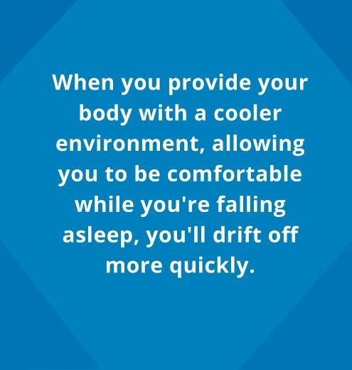 fall asleep quicker