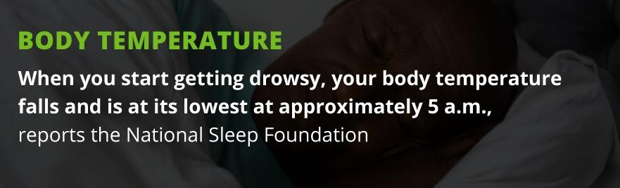 sleep body temp