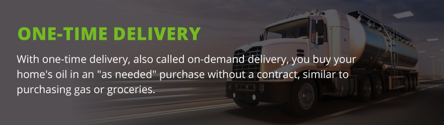 one time delivery