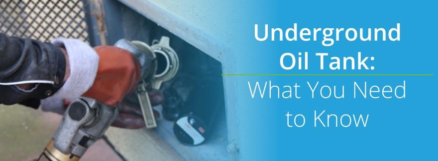 Underground oil tanks