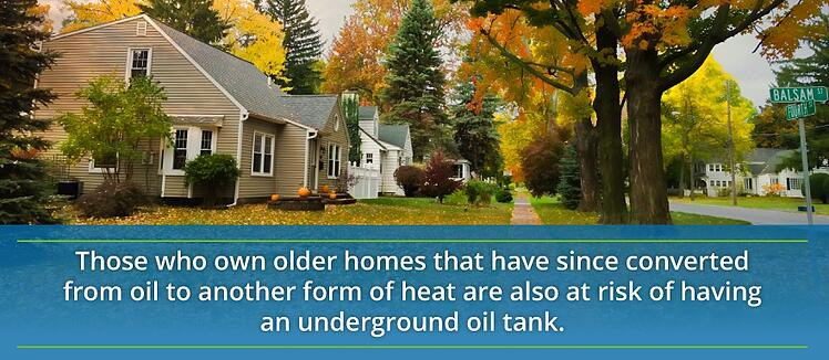 homes with underground tanks