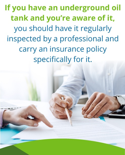 oil tank insurance policy