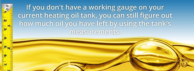 measuring your oil tank