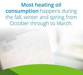 top oil consumption months