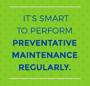 regular maintenance
